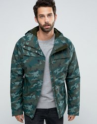 The North Face Torrendo Insulated Jacket In Camo Green Camo