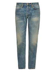 Simon Miller M001 Harker Narrow Fit Jeans Mid Blue