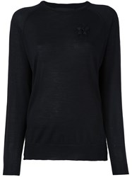Simone Rocha Embroidered Detail Sweater Black