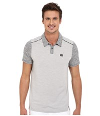 Oakley Collins Polo Stone Grey Men's Short Sleeve Pullover Gray