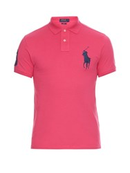 Polo Ralph Lauren Slim Fit Cotton Pique Polo Shirt Pink