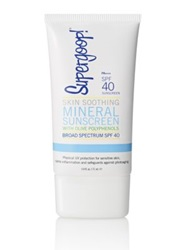 Supergoop Skin Soothing Mineral Sunscreen With Olive Polyphenols Spf 40 2.4 Oz.