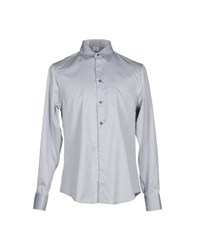 Gianfranco Ferre Gf Ferre' Shirts Shirts Men Light Grey