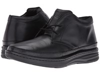 Drew Shoe Keith Black Leather Men's Shoes