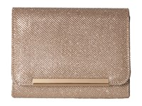 Jessica Mcclintock Katie Lurex Clutch Dusty Rose Clutch Handbags Pink