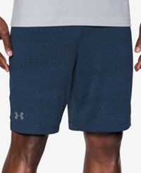Under Armour Raid Jacquard Shorts Blue