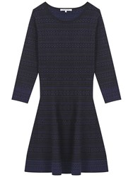 Gerard Darel Rita Dress Blue