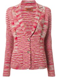 Missoni Knitted Blazer Red