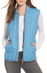 Hunter Women's Women's Original Quilted Gilet Vest Pale Blue