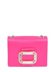 Roger Vivier Tiffany Swarovski And Silk Satin Bag