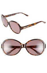 Bcbgmaxazria Women's Bcbg 'Sweetheart' 60Mm Sunglasses Tortoise