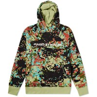 Raised By Wolves Cargo Popover Hoody Green
