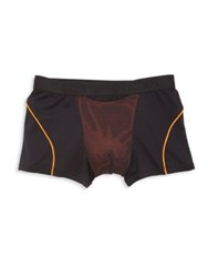 Hom Mesh Trunks Black