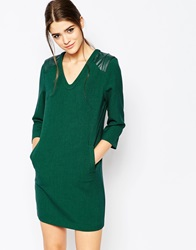 See U Soon Shift Dress With Pockets Green