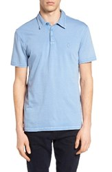 John Varvatos Men's Star Usa 'Peace' Trim Fit Polo