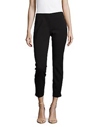 Saks Fifth Avenue Solid Cropped Pants Black