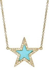 Jennifer Meyer Women's Star Charm Necklace Gold
