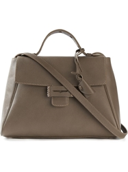 Myriam Schaefer Mini 'Byron' Tote Brown