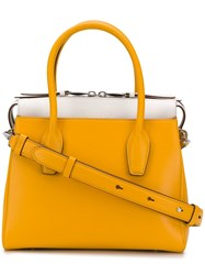 Tod's Small Tote Bag Yellow