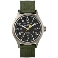 Timex Expedition Scout Watch Black And Green