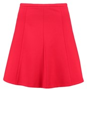 More And More Mini Skirt Red Passion