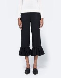 Farrow Catania Ruffle Pant Black