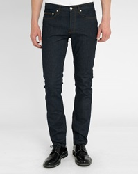 Sandro Pixies Raw Stretch Straight Jeans