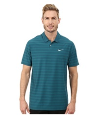 Nike Tiger Woods Mobility Polo Emerald Men's Short Sleeve Pullover Green