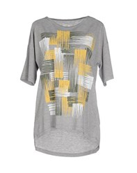 Rifle Topwear T Shirts Women Grey