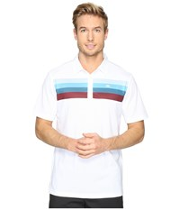 Travis Mathew Chubauck Polo White Men's Clothing