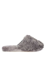 Isotoner Regina Slip On Slippers Ash
