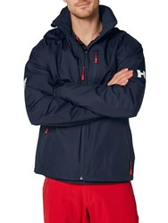 Helly Hansen Crew Hooded Midlayer 'S Jacket Navy