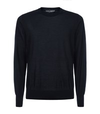 Dolce And Gabbana Cashmere Round Neck Sweater Male