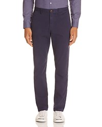 Michael Kors Garment Dyed Slim Fit Chinos Midnight