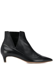 Rupert Sanderson Farview Heeled Ankle Boots Black