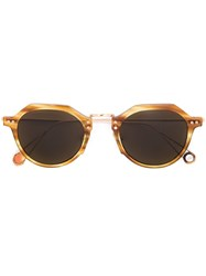 Ahlem 'Garest Lazare' Sunglasses Yellow Orange