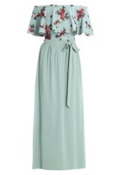 Little Mistress Petite Floral Occasion Wear Green