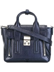 3.1 Phillip Lim Mini Pashli Satchel Blue