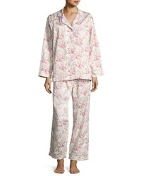 Bedhead Floral Print Classic Pajama Set Spring Bloom