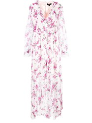 Rachel Zoe Floral Ruffle Day Dress Multicolour