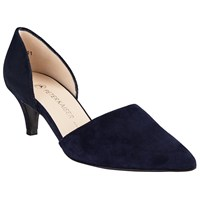 Peter Kaiser Cornelia Two Part Court Shoes Navy