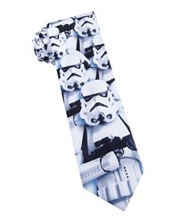 Star Wars Storm Trooper Tie White