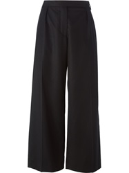 Carven Wide Leg Trousers Black