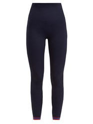 Lndr Freefall Compression Performance Leggings Navy Multi