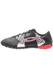 Under Armour Cf Force 2.0 Tr Astro Turf Trainers Black Rocket Red White