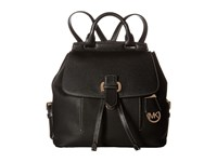 Michael Michael Kors Romey Medium Backpack Black Backpack Bags