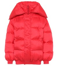 Vetements Puffer Jacket Red