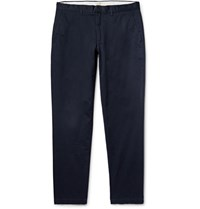 Club Monaco Connor Slim Fit Stretch Cotton Twill Chinos Midnight Blue