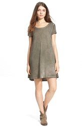 Junior Women's Socialite Brushed T Shirt Dress