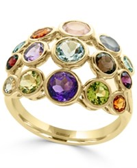 Effy Multi Gemstone Statement Ring 3 3 4 Ct. T.W. In 14K Gold Yellow Gold
